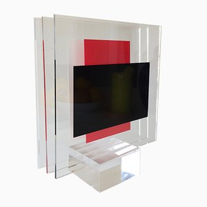 Puna Plexiglas Skulptur von Jo Niemeyer für Partanen, 1994