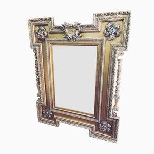 Großer goldener Regency Spiegel