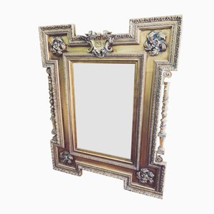 Large Regency Gold Mirror