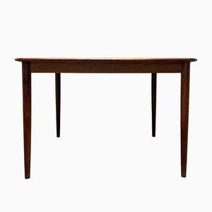 Tavolo da pranzo allungabile in palissandro di Henry Rosengren Hansen per Brande, anni '60