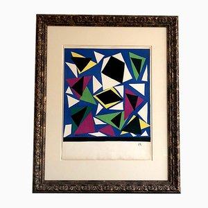 Litografía Exposition D'Affiches de Henri Matisse para Mourlot, 1952