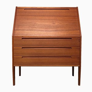 Danish Mid-Century Teak Secretaire by N. Jonsson for Tørring, 1960s