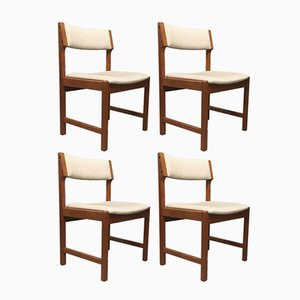 Danish Mid-Century Dining Chairs by Kurt Østervig for K. P. Møbler, 1960s, Set of 4