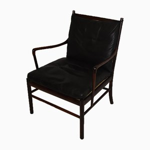 Colonial Rosewood Chair by Ole Wanscher for Poul Jeppesens, 1960s