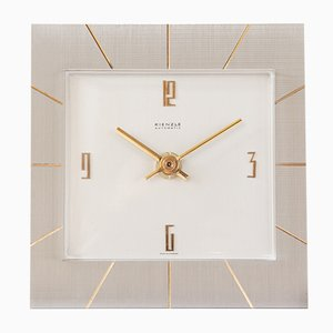 Bauhaus Table Clock from Kienzle International, 1960s