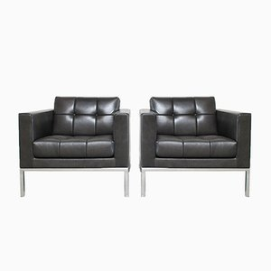 Natural Leather DS 159 Lounge Chairs from de Sede, 2007, Set of 2