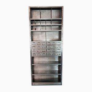 Vintage Industrial Metal Shelves