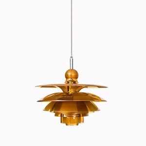 Lámpara de techo Septima 5 de Poul Henningsen para Louis Poulsen, años 30