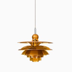 Septima 5 Ceiling Lamp by Poul Henningsen for Louis Poulsen, 1930s
