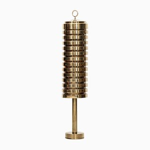 G-81 Brass Floor Lamp by Hans-Agne Jakobsson, 1950s