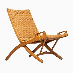 Model JH512 Folding Chair by Hans J. Wegner for Johannes Hansen