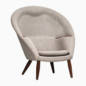Oda Easy Chair by Nanna Ditzel for Poul Kolds Savværk, 1950s