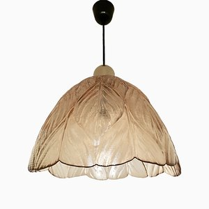 Large Amber Pendant Lamp from Peill and Putzler, 1960s
