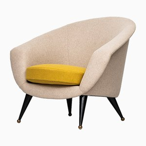 Tellus Easy Chair by Folke Jansson for SM Wincrantz, 1950s