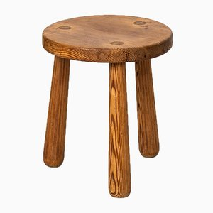 Utö Stool by Axel Einar Hjorth for Nordiska Kompaniet, 1930s