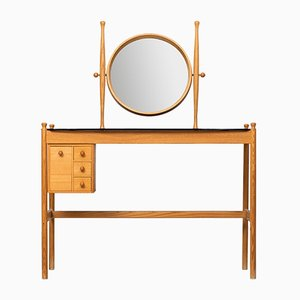 Vanity in Ash, Oak & Glass, 1950s
