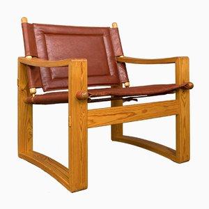 Safari Chair von Borge Jensen für Bernstoffsminde Møbelfabrik, 1960er