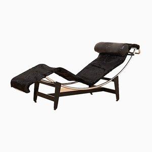 Chaise longue LC4 di Le Corbusier & Charlotte Perriand per Wohnbedarf, anni '50