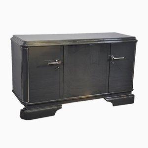 Graues metallisches Sideboard, 1920er