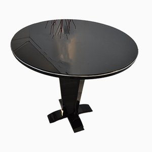 Table d'Appoint Ronde Art Deco, 1930s