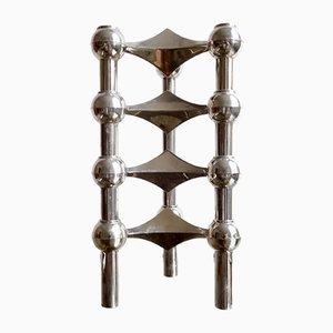 Portacandele modulari S22 di Ceasar Stoffi & Fritz Nagel per BMF, anni '70, set di 4