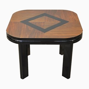 Art Deco Table with a Painted Rhombus, 1940s