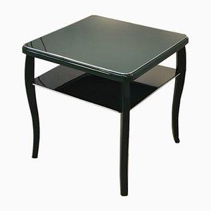 Tavolino Art Déco verde, anni '20
