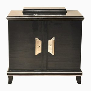 Art Deco Commode with Chrome Handles, 1920s