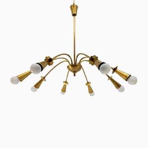 Lámpara de techo estilo araña, años 50