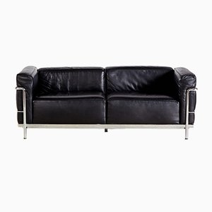 LC3 Sofa by Le Corbusier, Pierre Jeanneret & Charlotte Perriand for Cassina, 1928