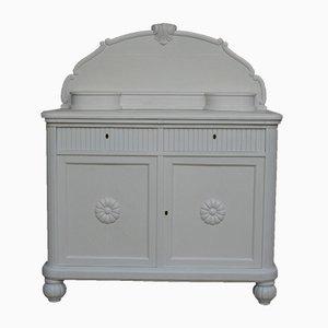 White Painted Oak Buffet, 1930s