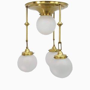 Art Nouveau Style Ceiling Lamp