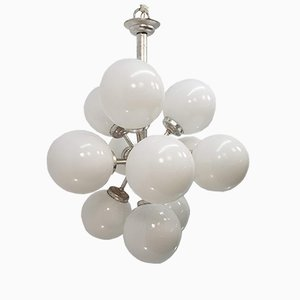 Space Age Sputnik 12 Ball Ceiling Lamp
