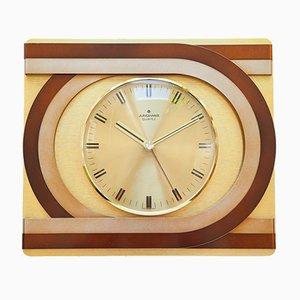Orologio da parete Space Age di Uhrenfabrik Junghans, anni '70