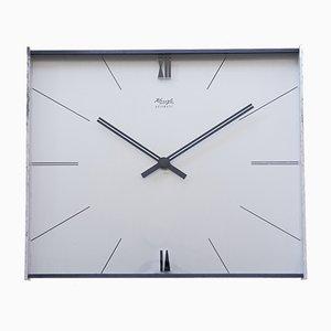 Horloge Murale Mid-Century par Heinrich Moller pour Kienzle, 1960s