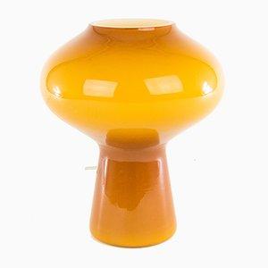 Lampada da tavolo Fungo soffiata a mano di Massimo Vignelli per Venini, anni '60