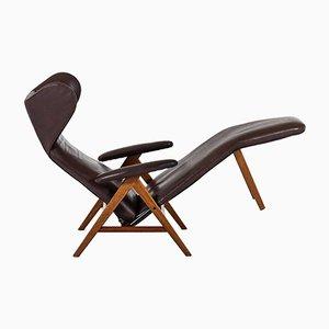 Sedia reclinabile di H.W. Klein per Bramin, anni '60