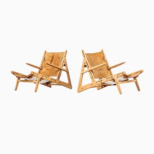 Easy Chairs by Børge Mogensen for Fredericia, 1960s, Set of 2