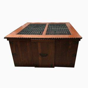 Table Commode Treasure Antique avec 6 Chaises