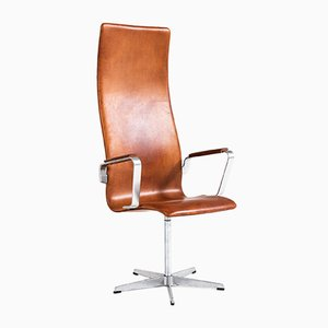 Silla modelo 3272 Oxford de Arne Jacobsen para Fritz Hansen, 1969
