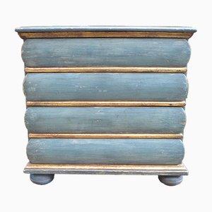 Comò blu ed oro, metà XVIII secolo