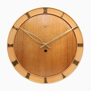 Art Deco Wall Clock from Junghans Meister, 1950s
