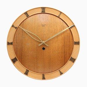 Horloge Murale Art Deco de Junghans Meister, 1950s