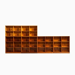 Bookcases by Mogens Koch for Rud Rasmussen, 1933, Set of 6