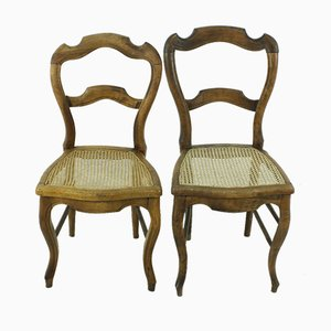 Louis Philippe Style Chairs, 1870s, Set of 2