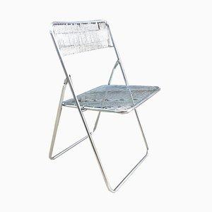 Chaise Pliante par Niels Gammelgaard pour Ikea, 1978