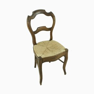 Louis Philippe Walnut Chair, 1870s
