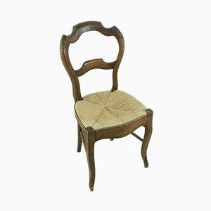 Louis Philippe Walnut Chair, 1870s