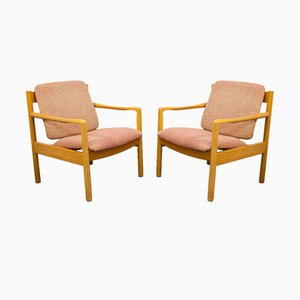 Vintage Lounge Chairs by Lucian Ercolani for Ercol, Set of 2