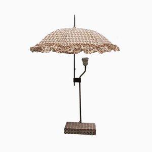 Lámpara de mesa Umbrella italiana Mid-Century, años 50